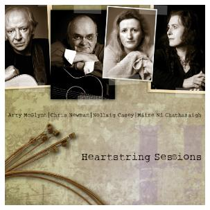 """Hearstring Sessions"" CD cover"